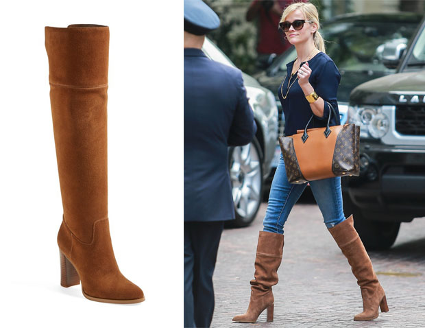 Reese Witherspoon MICHAEL Michael Kors 'Regina' Over the Knee Boot