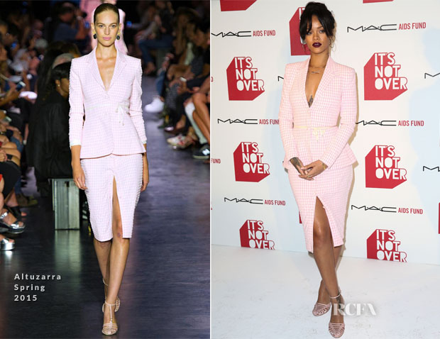 Rihanna In Altuzarra - MAC Cosmetics And MAC AIDS Fund World Premiere Of 'It's Not Over' Film