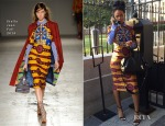 Rihanna In Stella Jean - The White House