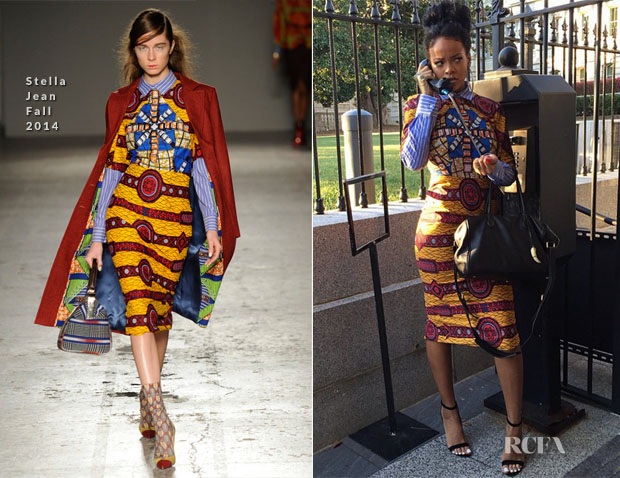 Rihanna In Stella Jean - White House