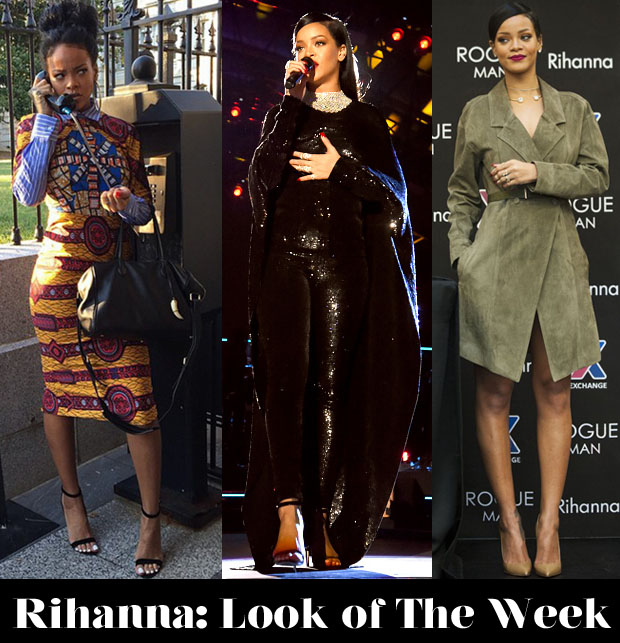 Rihanna look of the week
