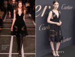 Rooney Mara In Givenchy - The Maison Cartier Celebrates 100th Anniversary Of Their Emblem La Panthere De Cartier