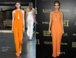 Sarah Hyland In Giulietta - The Hollywood Foreign Press Association And InStyle Celebrate The 2015 Golden Globe Award Season