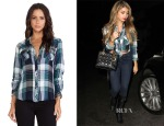 Sarah Hyland's Rails Kendra Plaid Button-Down Shirt