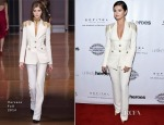 Selena Gomez In Versace - 3rd Annual Unlikely Heroes Awards Dinner and Gala