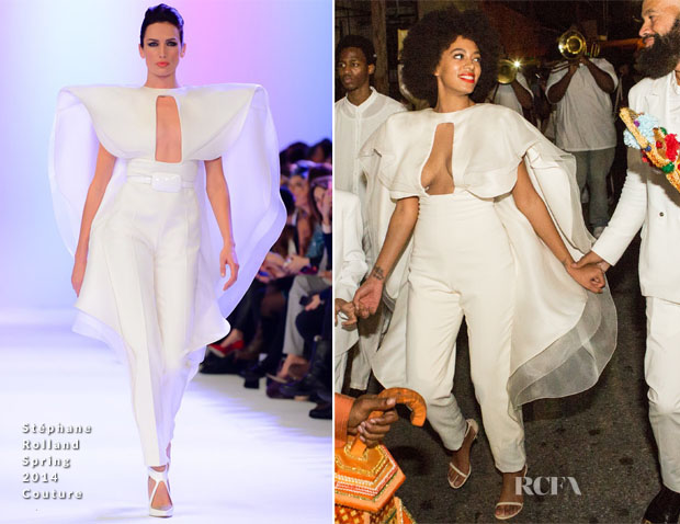 93b5d292c41 Solange Knowles Wore A Kenzo Gown   Three Stéphane Rolland Couture ...