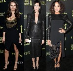 The Hollywood Foreign Press Association And InStyle Celebrate The 2015 Golden Globe Award Season Red Carpet Roundup 3