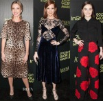 The Hollywood Foreign Press Association And InStyle Celebrate The 2015 Golden Globe Award Season Red Carpet Roundup 4