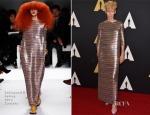 Tilda Swinton In Schiaparelli Couture - Academy Of Motion Picture Arts And Sciences' Governors Awards