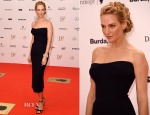 Uma Thurman In Atelier Versace - 2014 Bambi Awards