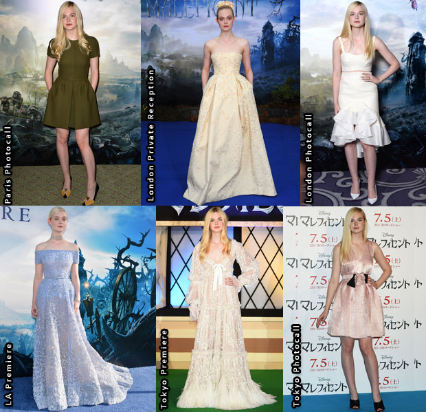 Which Was Your Favourite Elle Fanning 'Maleficent' Promo Tour Look