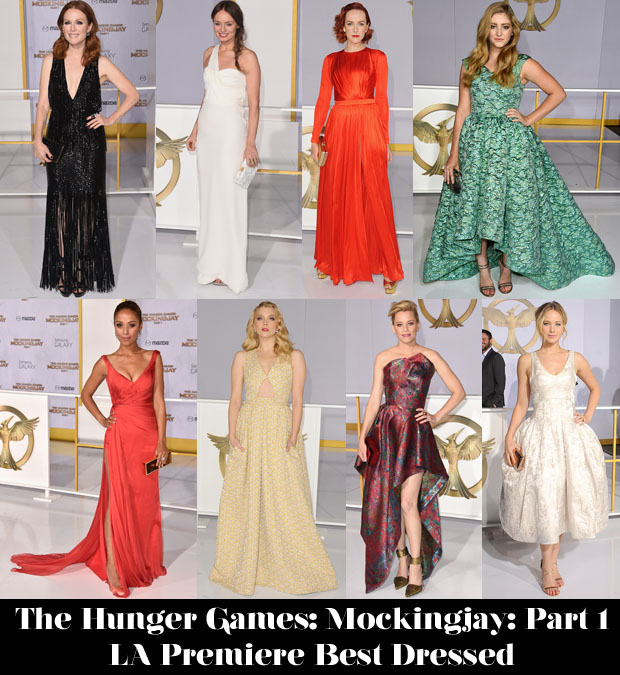 Who Was Your Best Dressed At 'The Hunger Games Mockingjay – Part 1′ LA Premiere2
