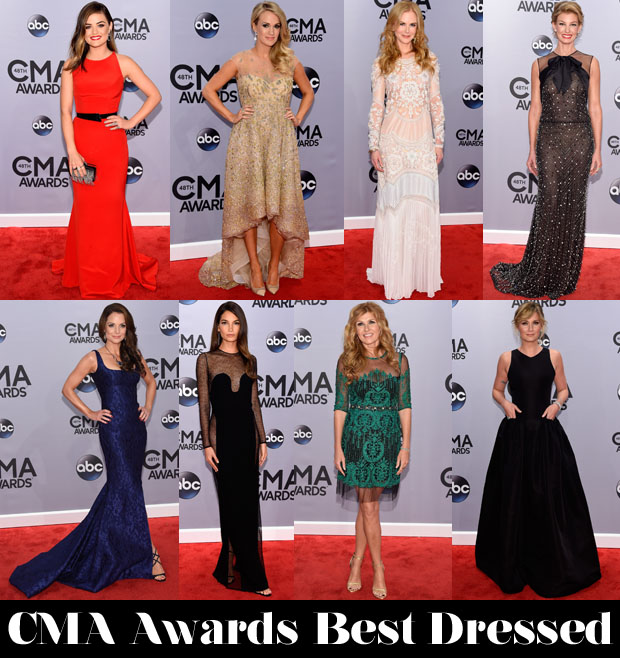 Who Was Your Best Dressed At The 2014 CMA Awards