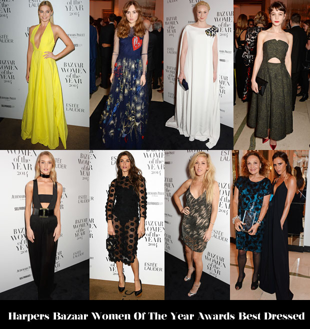 Who Was Your Best Dressed At The 2014 Harper's Bazaar Women of the Year Awards
