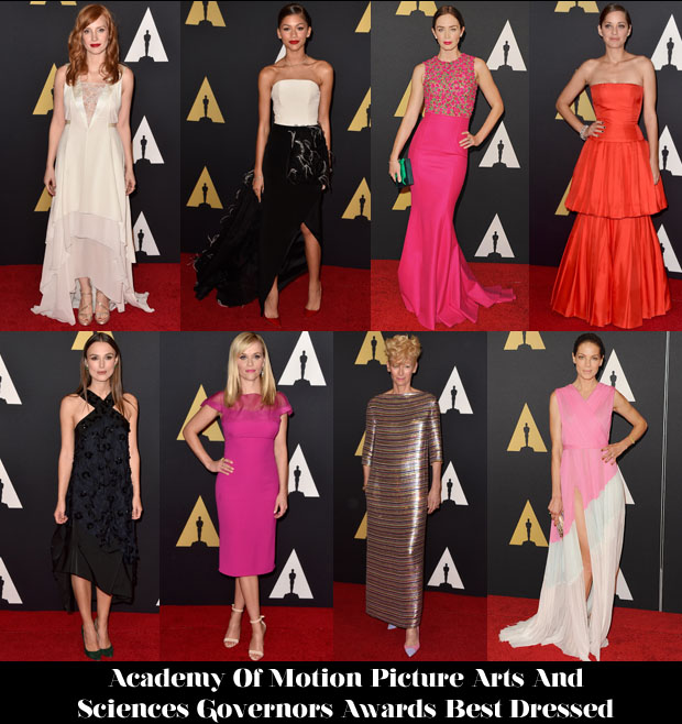 Who Was Your Best Dressed At The Academy Of Motion Picture Arts And Sciences' Governors Awards