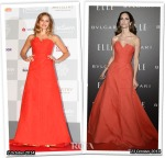 Who Wore Carolina Herrera Better...Teresa Palmer or Eugenia Silva?