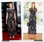 Who Wore Valentino Better...Jena Malone or Alexa Chung?