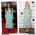 Who Wore Burberry Prorsum Better...Naomie Harris or Kirsten Dunst?