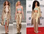 Zendaya Coleman In Georgine - 2014 American Music Awards