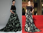 Zhang Ziyi In J. Mendel - 2014 Golden Horse Awards