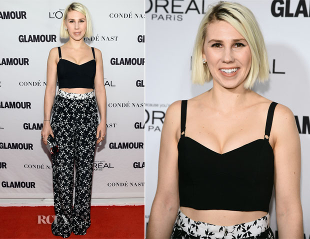 Zosia Mamet In Milly & Tanya Taylor - Glamour Women Of The Year Awards