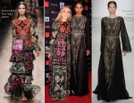Franca Sozzani In Valentino & Ciara In Tadashi Shoji - Vogue Fashion Dubai Experience: Gala Event
