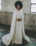 Solange Knowles Wore A Kenzo Gown & Three Stéphane Rolland Couture Jumpsuits On Her Wedding Day