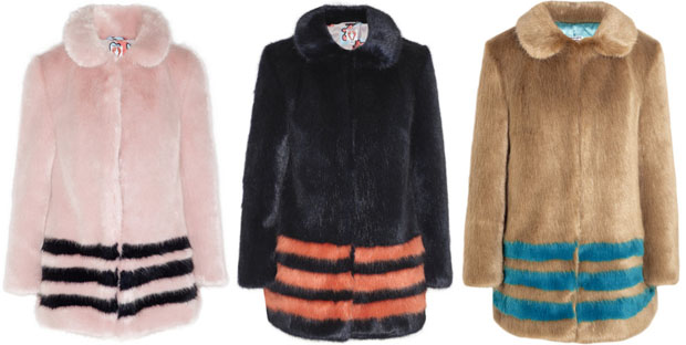 shrimps faux fur coats