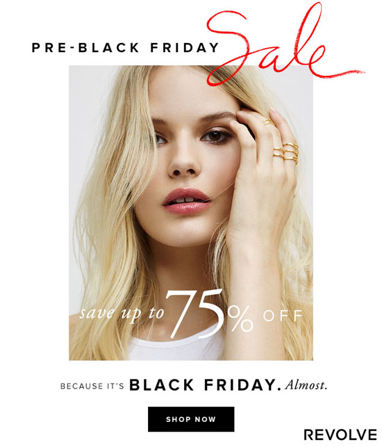Revolve Clothing's It's Black Friday on a Thursday Sale