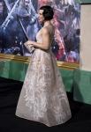 Evangeline Lilly in Alberta Ferretti