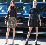 Alessandra Ambrosio In Emilio Pucci & Behati Prinsloo In Alexander Wang - Extra