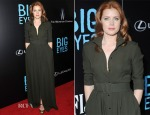 Amy Adams In Max Mara - 'Big Eyes' New York Premiere