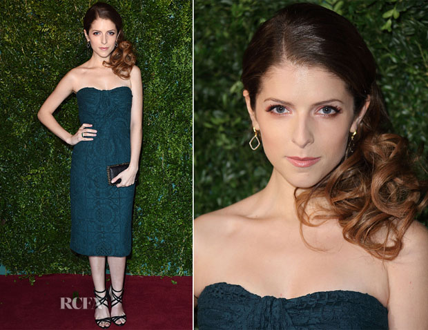 Anna Kendrick In Burberry Prorsum - 2014 London Evening Standard Theatre Awards