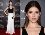 Anna Kendrick In Narciso Rodriguez - 'Into the Woods' World Premiere