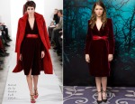 Anna Kendrick In Oscar de la Renta - 'Into The Woods' London Photocall
