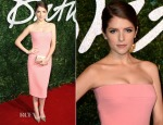 Anna Kendrick In Victoria Beckham - 2014 British Fashion Awards