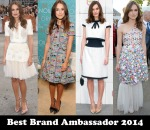 Best Brand Ambassador 2014 - Keira Knightley for Chanel
