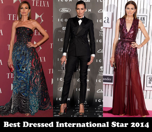 Best Dressed International Star 2014 – Nieves Alvarez