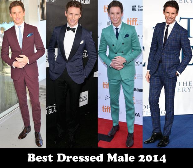 Best Dressed Male 2014 – Eddie Redmayne