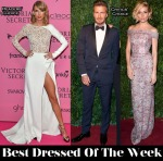 Best Dressed Of The Week - Taylor Swift In Zuhair Muard, Sienna Miller In Burberry & David Beckham In Dior Homme