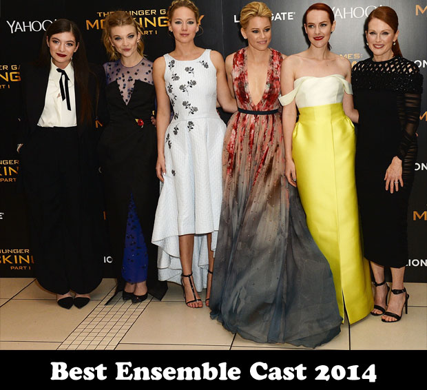 Best Ensemble Cast 2014 – 'The Hunger Games Mockingjay, Part 1'
