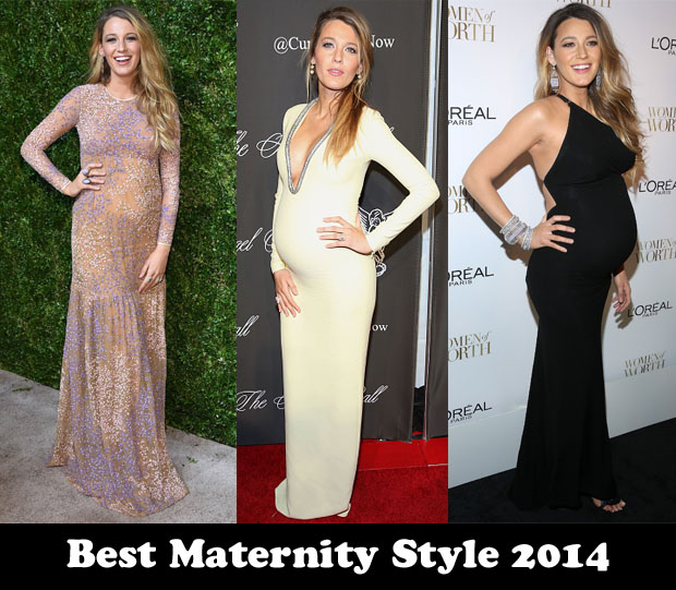 Best Maternity Style 2014 - Blake Lively