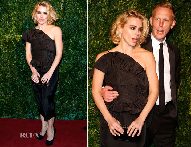 Billie Piper In Peekaboo Vintage - 2014 London Evening Standard Theatre Awards