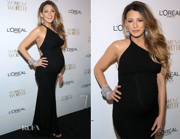 Blake Lively In Kaufmanfranco -  L'Oreal Paris' 9th Annual Women Of Worth Celebration