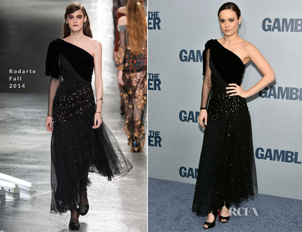Brie Larson In Rodarte - 'The Gambler' New York Premiere