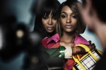 Naomi Campbell and Jourdan Dunn for Burberry Prorsum Spring 2015