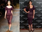 Camila Alves In Dolce & Gabbana - Dom Perignon Party