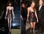 Cara Delevingne In Tom Ford - British Fashion Awards After-Party