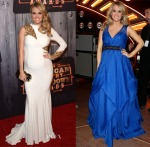 Carrie Underwood In Xtreme & Leanne Marshall - 2014 American Country Countdown Awards
