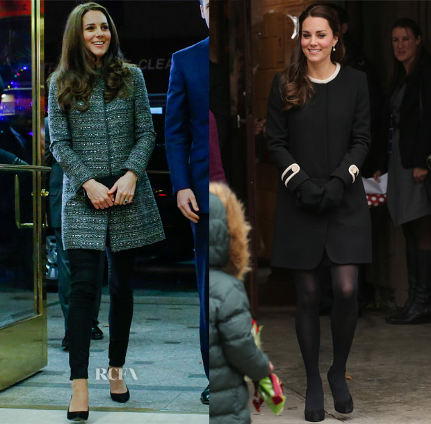Catherine, Duchess of Cambridge In Goat & Tory Burch - Northside Center, Wildlife Reception & Cavaliers vs Brooklyn Nets NBA Game